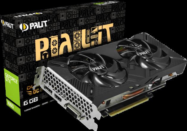 NVIDIA GeForce GTX 1660 Dual OC 6GB Palit GPU