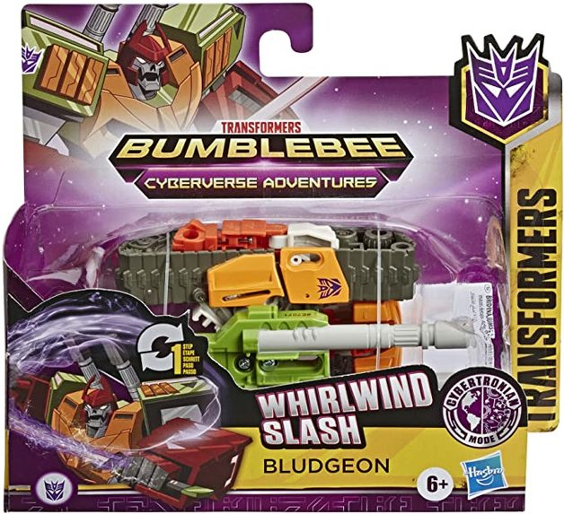Transfomers: Cyberverse - 1-Step Changer - Bludgeon