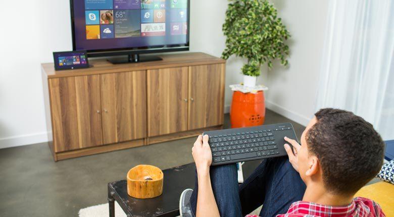Microsoft All-in-One Media Keyboard image