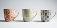 Mix & Match: Stamped Mug - Blue