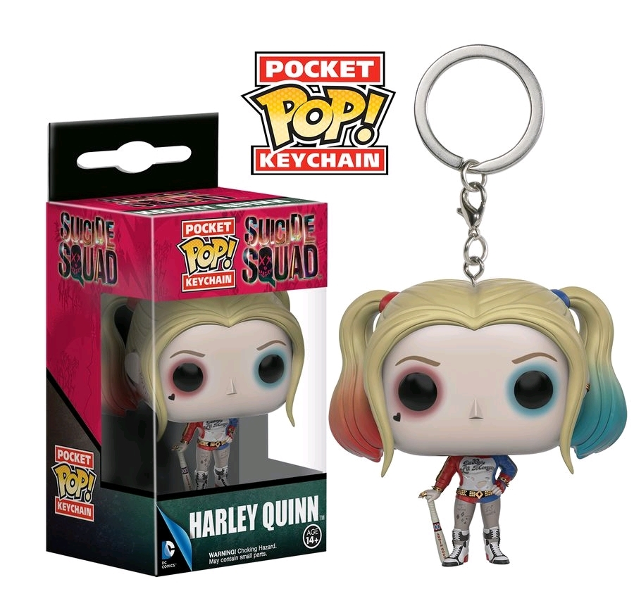 Suicide Squad - Harley Quinn Pop! Keychain image