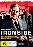 Ironside - Season 1: Fatpack Version (8 Disc Set) on DVD