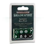 Warhammer Age of Sigmar: Shadespire - Ironjawz Dice