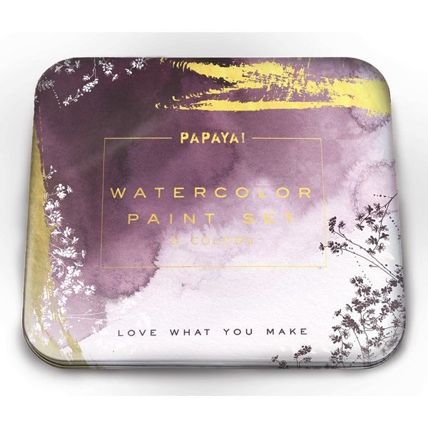 Papaya: Watercolour Set - Plum Watercolour