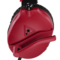 Turtle Beach Ear Force Recon 70 Stereo Gaming Headset (Red) for PS4 image