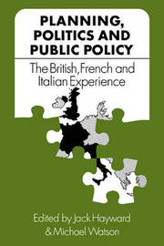 Planning, Politics and Public Policy image