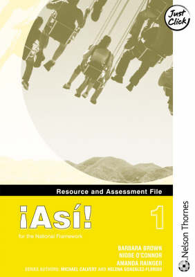 !Asi! 1 - Resource and Assessment File by Amanda Raigner