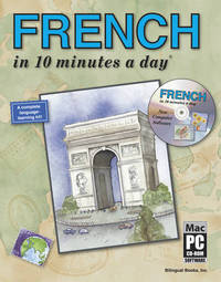 """French in 10 Minutes a Day"" by Kristine K. Kershul image"