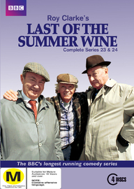 Last of the Summer Wine: Series 23 & 24 on DVD