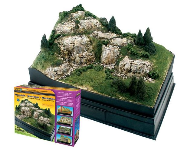Woodland Scenics Mountain Diorama Kit