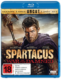 Spartacus: War of the Damned on Blu-ray