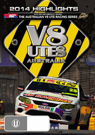 Australian V8 Utes Racing Series 2014 Highlights (2 Disc Set) on DVD