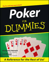 Poker For Dummies by Richard D. Harroch