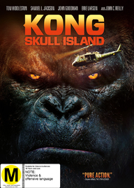 Kong: Skull Island on DVD