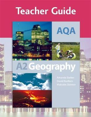 AQA A2 Geography Teacher Guide by Amanda Barker image