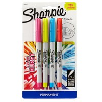Sharpie Ultra Fine - Colour Burst (4-pack)