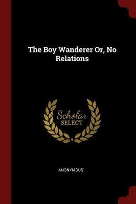 The Boy Wanderer Or, No Relations by * Anonymous