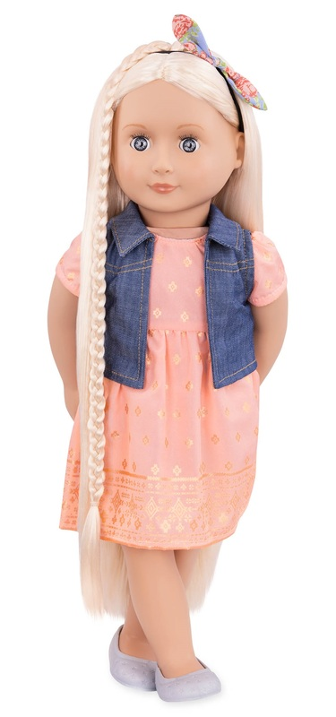"""Our Generation: 18"""" Hairgrow Doll - Lyra"""