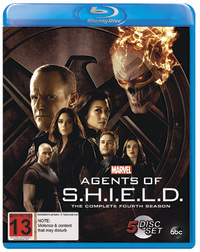 Agents Of S.H.I.E.L.D. Season 4 on Blu-ray