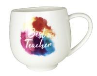Best Teacher Watercolour Mug