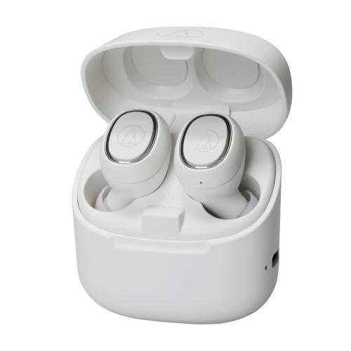 Audio-Technica True Wireless In-Ear Earphones - White