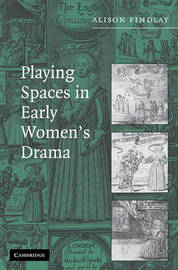 Playing Spaces in Early Women's Drama by Alison Findlay image