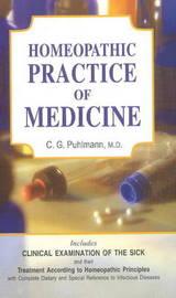 Handbook of Homoeopathic Practice by C.G. Puhlmann image