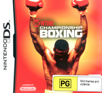Showtime Championship Boxing for Nintendo DS