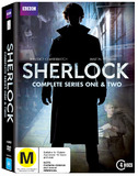Sherlock Complete Series One & Two DVD