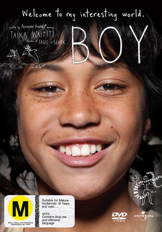 Boy on DVD