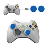 Silicone Key Protector Thumb Grip Caps for PS4 & Xbox (Blue) for Xbox One