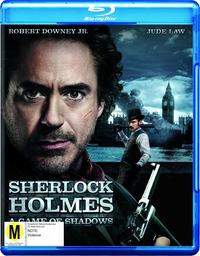 Sherlock Holmes: A Game of Shadows on Blu-ray