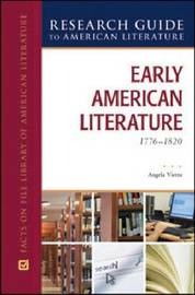 EARLY AMERICAN LITERATURE, 1776-1820 image