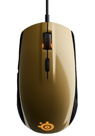 SteelSeries Rival 100 Gaming Mouse - Alchemy Gold for PC Games image