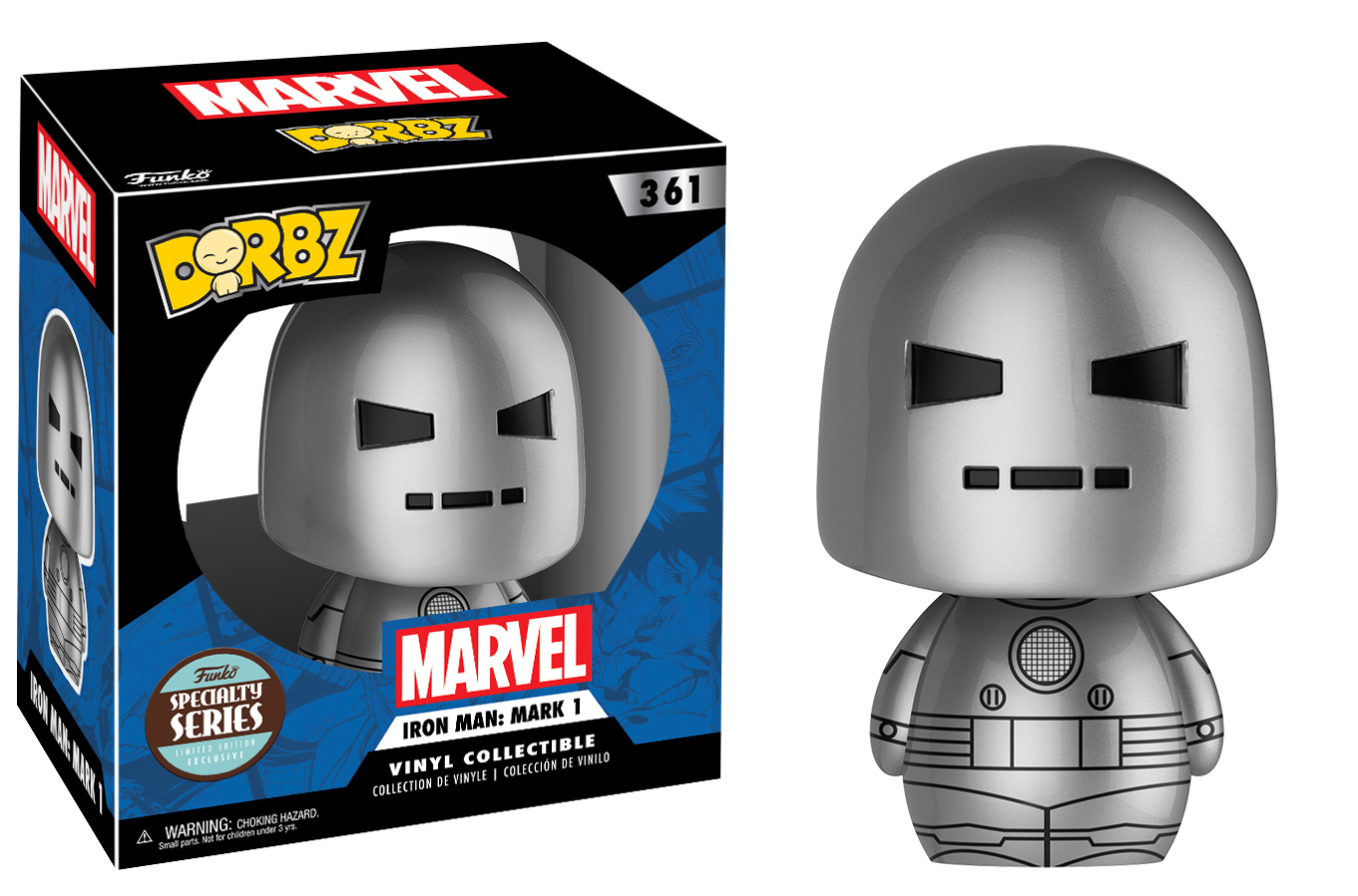 Marvel - Iron Man Mark 1 Dorbz Vinyl Figure image