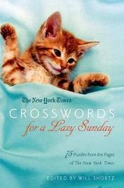 New York Times Crosswords for a Lazy Sunday image
