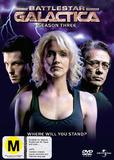 Battlestar Galactica 2006  - Season 3 (5 Disc Slimline Set) DVD