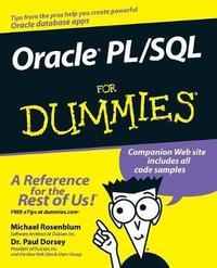 Oracle PL / SQL For Dummies by Michael Rosenblum