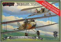 """Wingnut Wings 1/32 Halberstadt Cl.II """"Late"""" & RE.8 """"Harry Tate"""" Double Kit"""