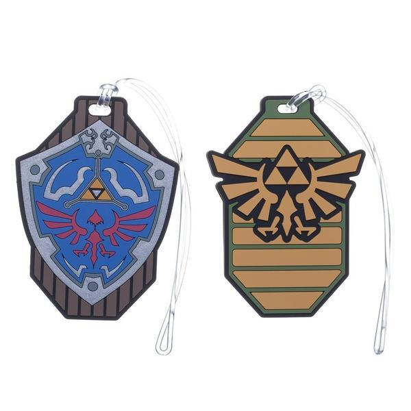 The Legend of Zelda - Rubber Luggage Tags (Set of 2)