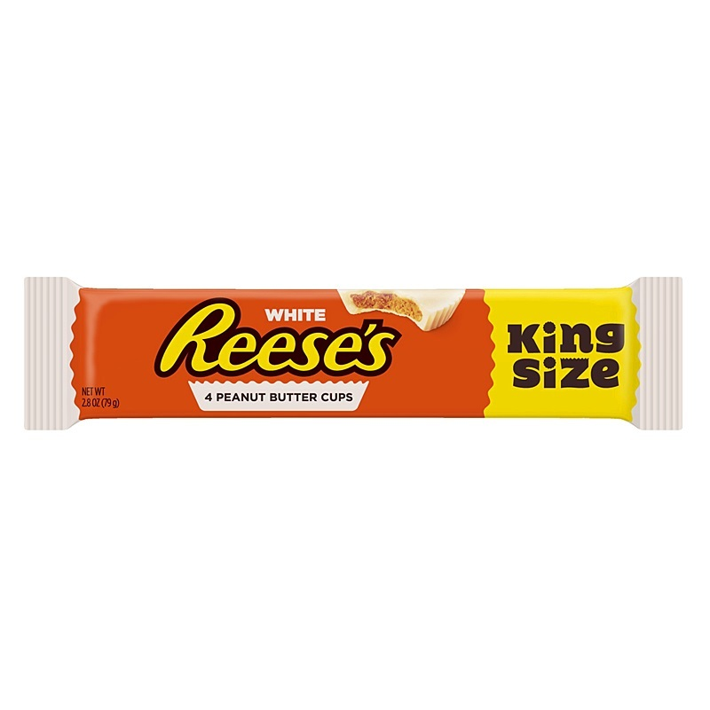 Reese's White Peanut Butter Cups 79g (King Size 4 Pack) image