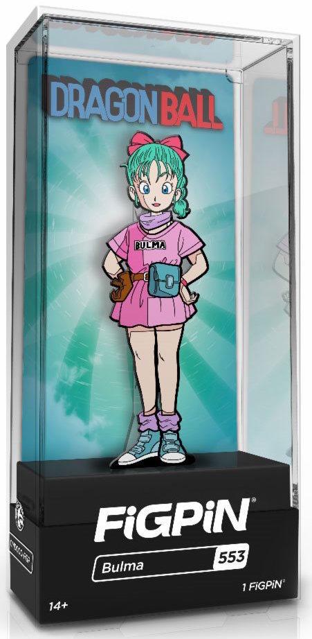 Dragon Ball: Bulma (#553) - Collector's FiGPiN image