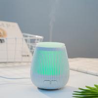 Creative USB Ultrasonic LED Aroma Diffuser Humidifier - White