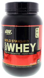 Optimum Nutrition Gold Standard 100% Whey - Strawberry (907g) image
