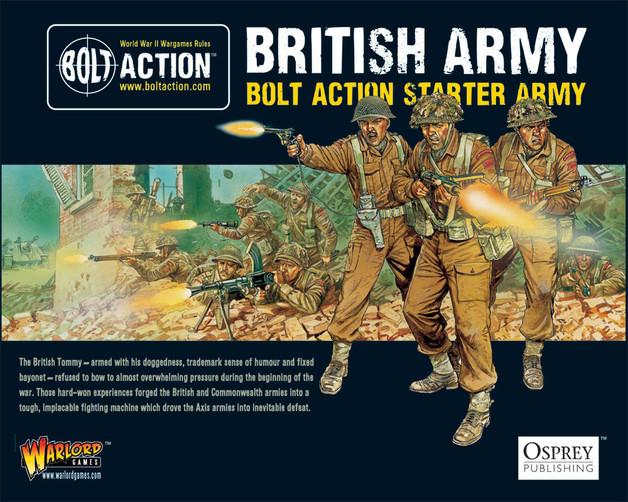 Bolt Action Starter Army British