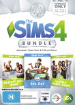 The Sims 4 Bundle Pack (code in box) for PC
