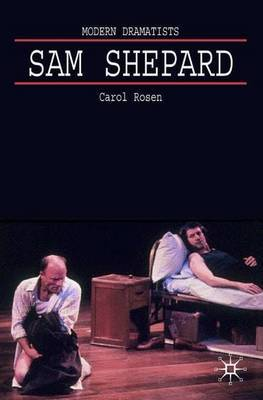 Sam Shepard by Carol Rosen