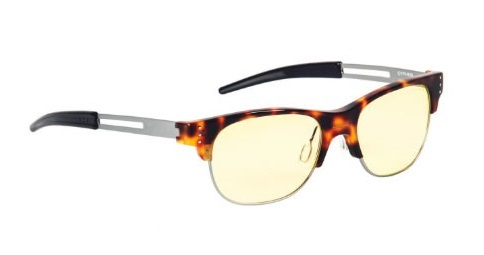 Gunnar Cypher Tortoise Amber Lens Advanced Gaming Glasses for PC Games image