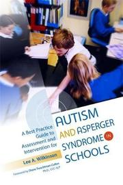 A Best Practice Guide to Assessment and Intervention for Autism and Asperger Syndrome in Schools by Lee A Wilkinson image
