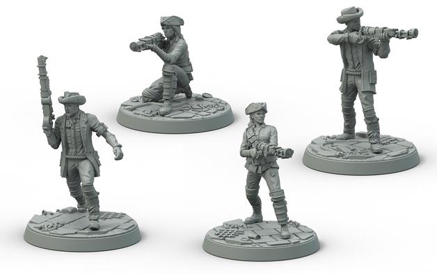 Fallout: Wasteland Warfare Survivors Minutemen Posse